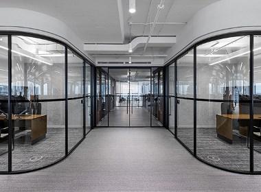 郑州宏钰堂装饰-优雅精致的高端企业办公室装修方案