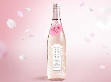 桃花春酒包装设计桃花酒包装设计桃花米酒包装设计方案