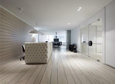 郑州宏钰堂推荐黑白工业风办公室装修设计方案