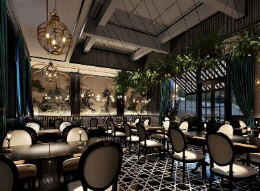 标题:『浪漫西餐厅主题』 项目面积:856平方 设计时间:2020年 联系电话:15156013674 项目风格:工业