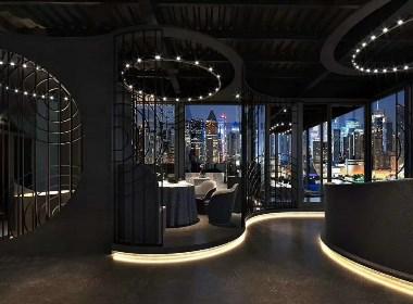 八百多平浪漫主题餐厅设计分享