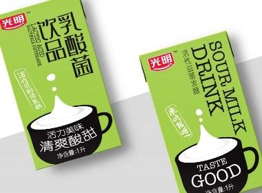 乳制品品牌包装设计