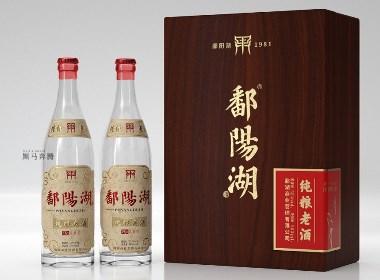 黑马奔腾 - 老酒风格光瓶酒包装设计