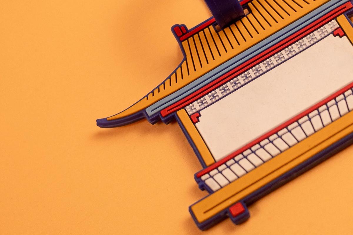 上海骐设计工作室   秀兰文化园   文创行李牌