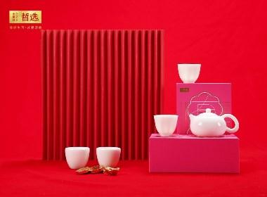 【 中国白·哲选 】辈辈有福 西施浣纱茶具套组 大师纯手工制作