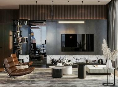 轻奢公寓,带你走进质感优雅的家