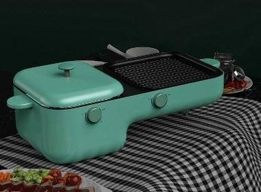 黑桃设计-早餐煎烤机