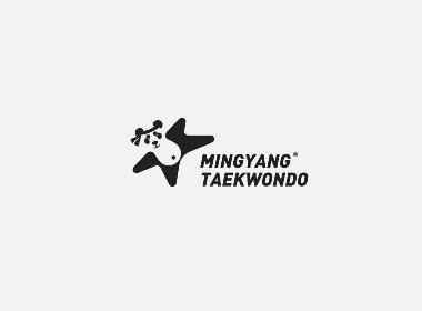 April作品「明陽跆拳道教育」品牌logo設計