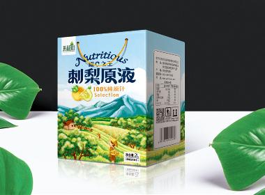 刺梨原液包装设计