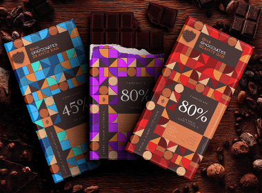 巧克力包装设计 | 插画 手绘 创意