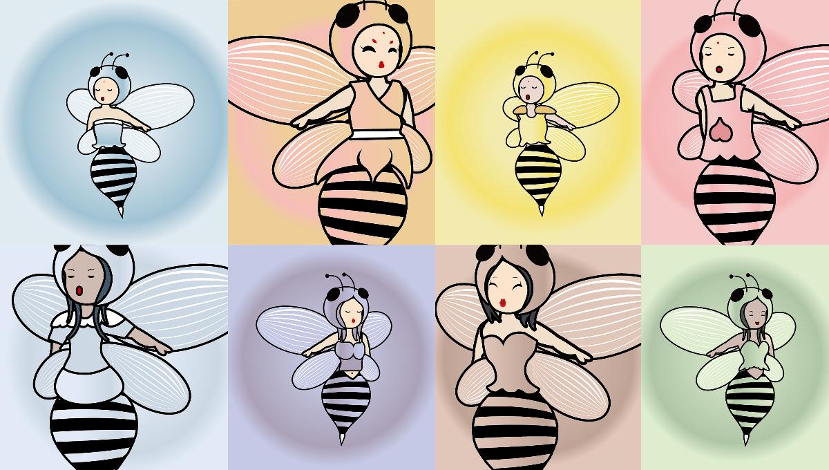 原创《遇见蜜蜂》IP-可授权 可买断