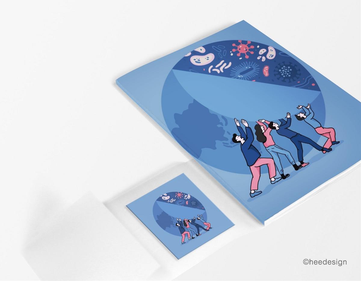 宣传册插画设计