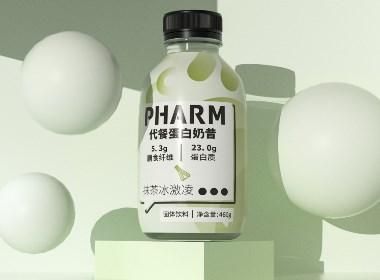 PHARM 蛋白奶昔包装设计