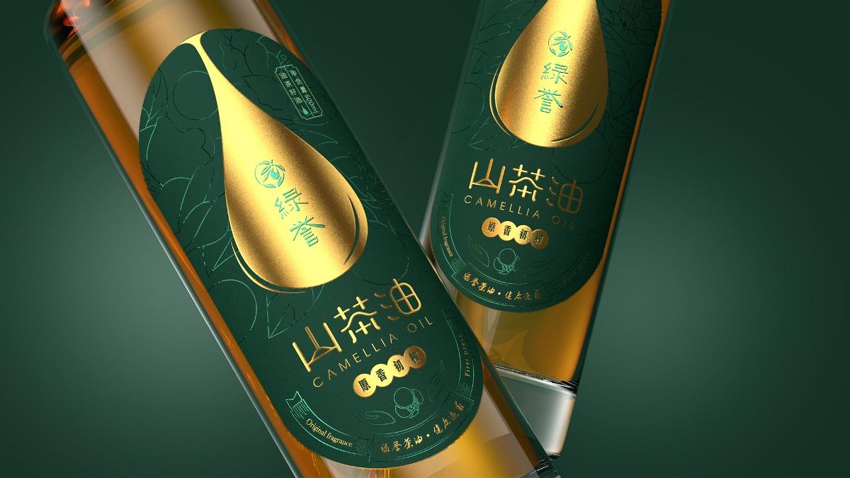悟境创意丨绿誉山高端茶油包装设计