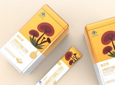 汤臣史克蜂胶保健品包装--圣智扬包装设计