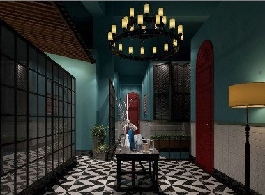 餐饮空间效果图案例