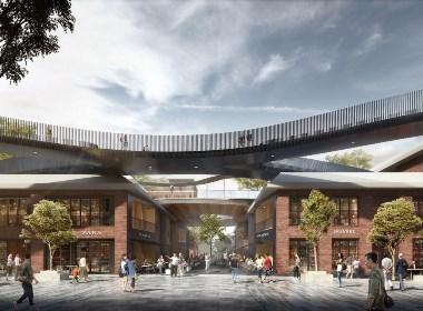 宁夏银川101文化产业园外立面和景观设计