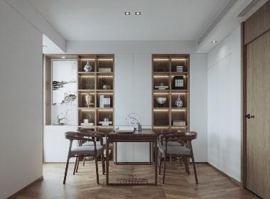 新中式客餐厅卧室