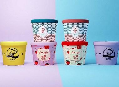 冰淇淋包装设计/冰激凌LOGO设计/包装设计 / 食品包装设计/糖果包装设计