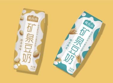 矿泉豆奶包装设计