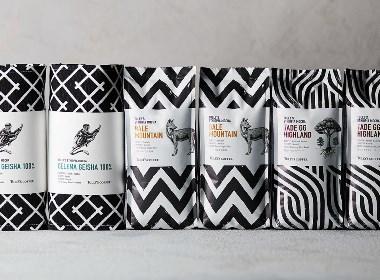茶 咖啡 饮品 包装设计 | 手绘 插画