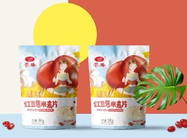 百纳出品 | 安徽贵格·营养麦片包装设计案例