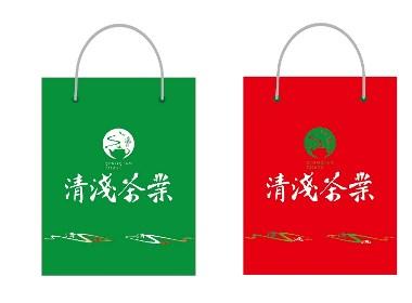 清浅茶业品牌设计