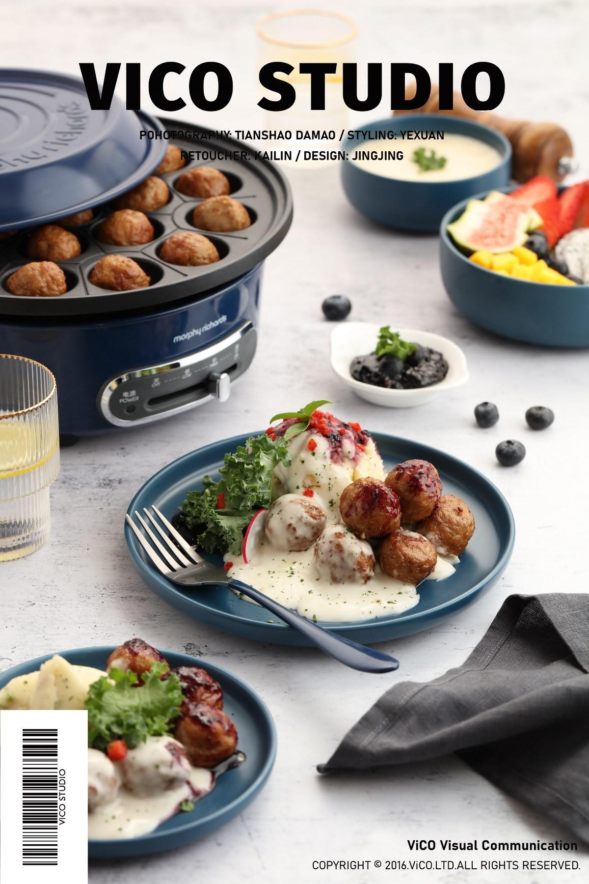 享受一顿饭的时光 | 摩飞《料理轻煮意》× ViCO视觉传媒