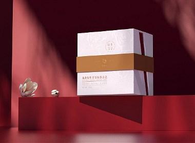 品牌全案 | 胭脂玉·中国传统风美妆产品包装设计详情页面设计
