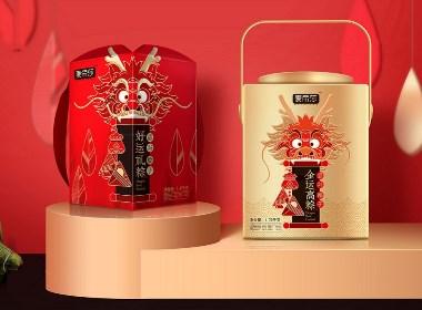 端午粽子礼盒系列包装设计