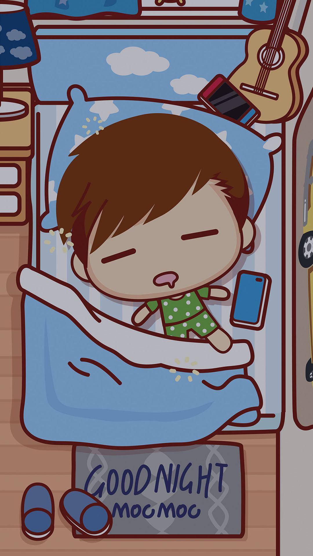 31张晚安好梦插画