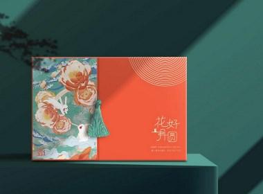 中秋月饼高端礼盒设计