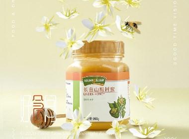椴树蜂蜜摄影/好食间摄影/美食摄影
