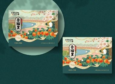 水果包装--杏--包装设计