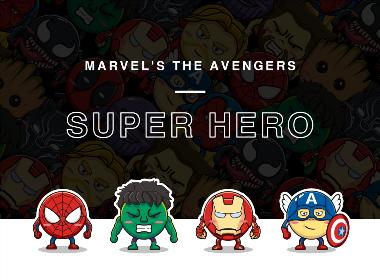 超级英雄小豆人