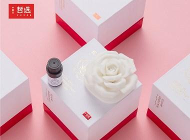 【 中国白·哲选 】瓷爱一生 陶瓷玫瑰花 陶瓷香氛摆件