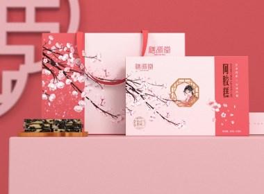 阿胶糕 固元膏 滋补 食品 · 膳源堂 / 刘益铭 × 原创作品