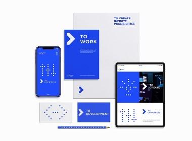 科技公司vi设计_数据品牌设计