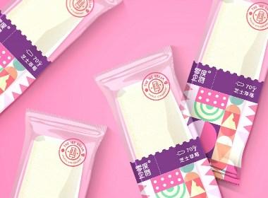 零度企鹅丨芝士草莓包装设计