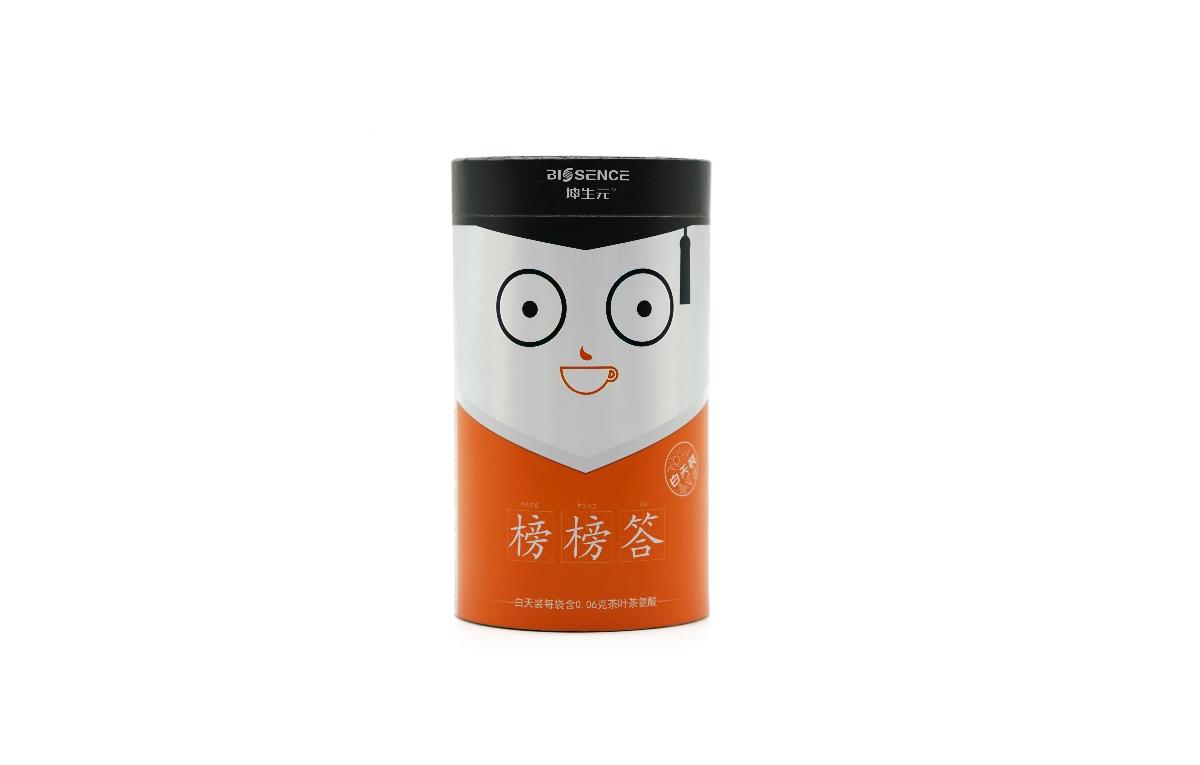榜榜答奶茶包装设计