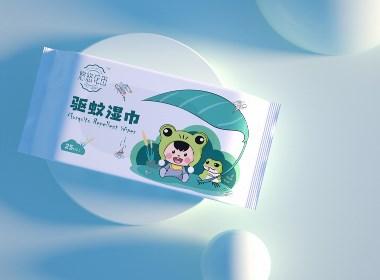 品牌包装丨驱蚊湿巾