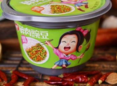 火麒麟作品 丨包装设计×方便米饭×自热拌面×柳树食品