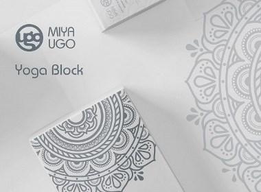 瑜伽砖包装盒设计