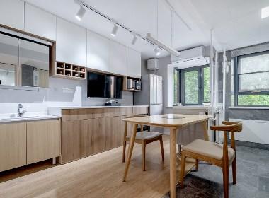 「久栖设计」小户型竟然还有12㎡的厨房,功能俱全到犯规