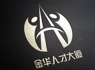 金华人才大厦logo