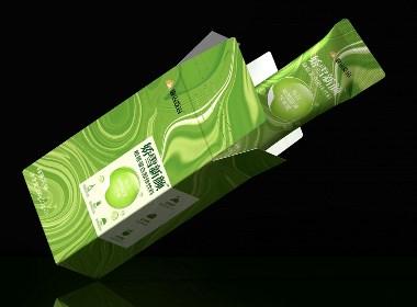 扬子江?靠山吃山胶原蛋白固体饮料包装设计|厚启设计