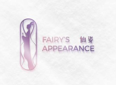 仙姿化妆品卡通形象LOGO设计