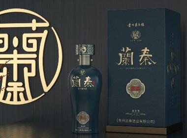 茅台镇酱香白酒包装设计-黑马奔腾创意作品