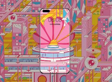 2020华为手机全球主题设计大赛-未来科技世界
