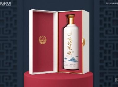白酒包装 · 伍坊陈酿 品牌包装设计 / 刘益铭 × 原创作品